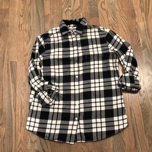 Plaid Uniqlo button up.